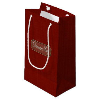 Beautiful Maroon Small Gift Bag