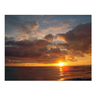 Beautiful Maui Sunset Postcard