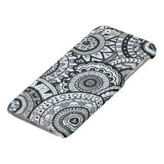 Beautiful medallion zen doodle phone case