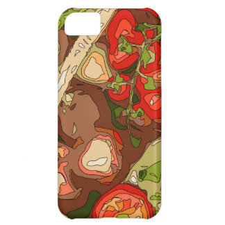 Beautiful Medley of Organic Fruits and Vegetables iPhone 5C Case