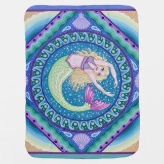 Beautiful mermaid baby blanket by Soozie Wray