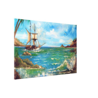 Beautiful Mermaid Canvas Print