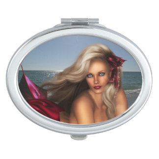 Beautiful Mermaid Travel Mirror