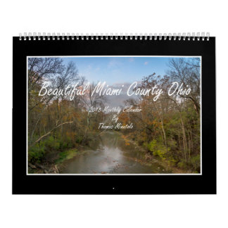 Beautiful Miami County Ohio 2018 Monthly Calendar