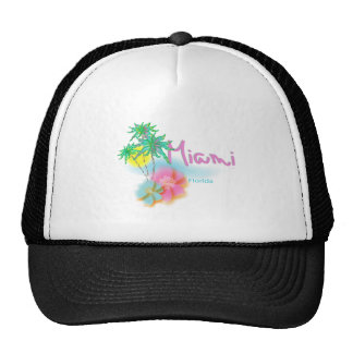 Beautiful Miami Florida Cap