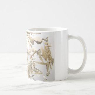Beautiful microfossils photo pattern coffee mug