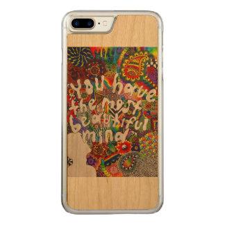 Beautiful Mind Carved iPhone 8 Plus/7 Plus Case