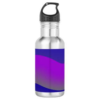 Beautiful Modern Art Wave Design Bottles