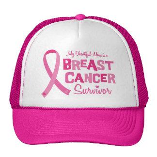 Beautiful Mom Breast Cancer Survivor Caps Cap