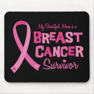 Beautiful Mom Breast Cancer Survivor Mousepad