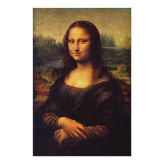Beautiful Mona Lisa Poster