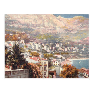 Beautiful Monte Carlo View Postcard