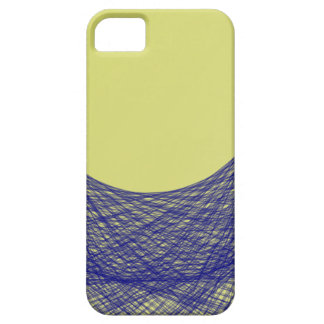 beautiful moon light shine blue color iPhone 5 cover