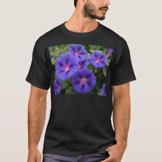Beautiful Morning Glories in Bloom T-Shirt