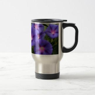 Beautiful Morning Glories in Bloom Travel Mug