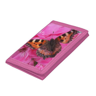 Beautiful morose escape pink wallet
