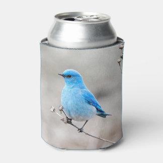 Beautiful Mountain Bluebird Can Cooler