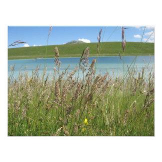 Beautiful Mountain Lake Photo Print