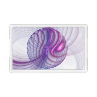 Beautiful Movements Abstract Fractal Art Pink