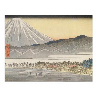 Beautiful Mt. Fuji in Japan circa 1800s Post Cards