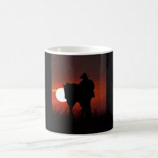 Beautiful Mug - Cowboy/Horse in Sunset
