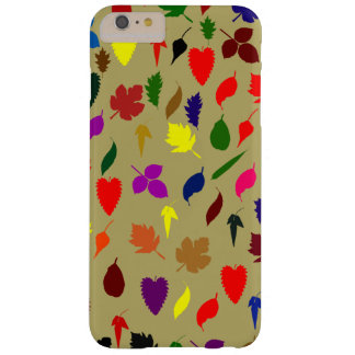 Beautiful Multicolor Floral Leaf Pattern Barely There iPhone 6 Plus Case