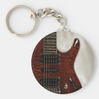 Beautiful Music--Ibanez Basic Round Button Key Ring