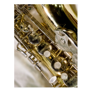 Beautiful Music--Saxophone Postcard
