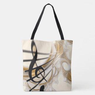 Beautiful Music Tote Bag