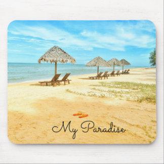 Beautiful My Paradise Beach Mouse Pad