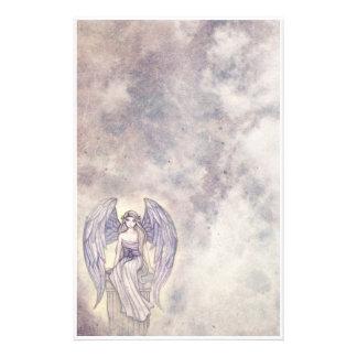 Beautiful Mystic Angel Stationary Stationery
