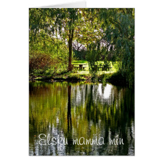 Beautiful nature mother´s day card
