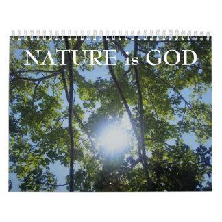 Beautiful NATURE Pictures Inspirational Calendar