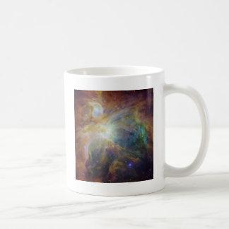 beautiful nebula basic white mug