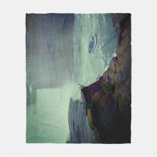 Beautiful Niagara Falls Fleece Blanket