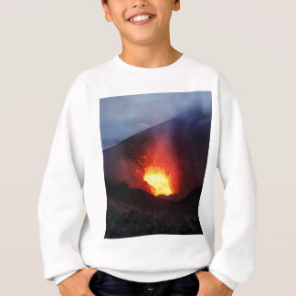 Beautiful night volcanic eruption sweatshirt