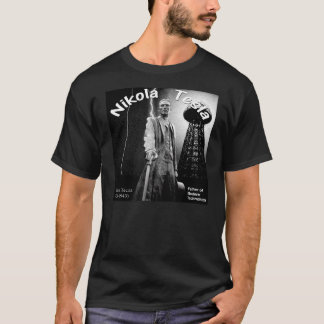 Beautiful Nikola Tesla T Shirt