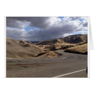 Beautiful Northern California Rolling Hills Greeting Card