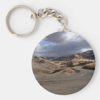 Beautiful Northern California Rolling Hills Key Chains