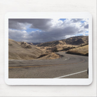 Beautiful Northern California Rolling Hills Mouse Pad