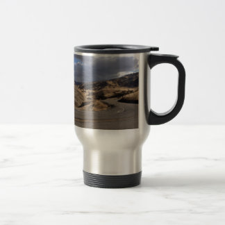Beautiful Northern California Rolling Hills Stainless Steel Travel Mug