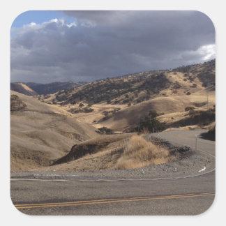 Beautiful Northern California Rolling Hills Stickers