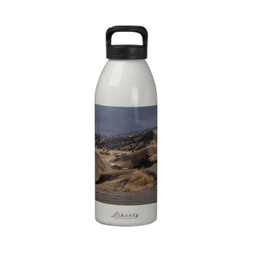 Beautiful Northern California Rolling Hills Water Bottles