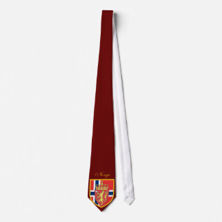Beautiful Norway Flag - Coat Arm Tie