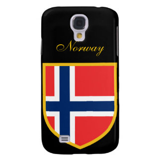Beautiful Norway Flag Samsung Galaxy S4 Cover