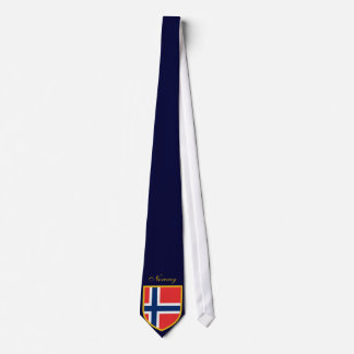 Beautiful Norway Flag Tie
