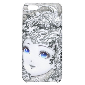 Beautiful ocean girl case for iPhone 5C