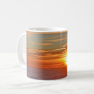 Beautiful Ocean Sunset Panorama Coffee Mug