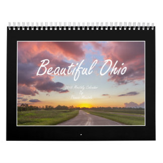 Beautiful Ohio 2018 Calendar By Thomas Minutolo