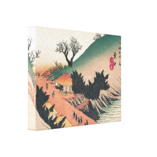 Beautiful Old Japanese Print Stretched Canvas Print
